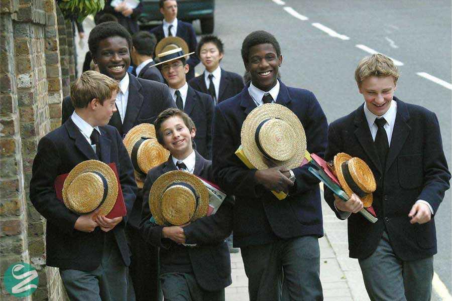 لباس فرم مدارس پسرانه لندن