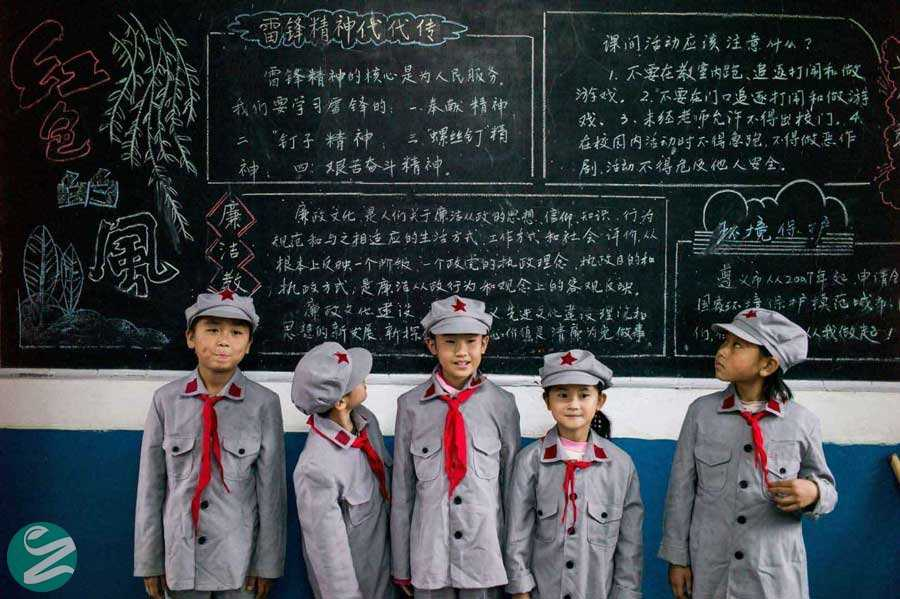 لباس فرم مدارس چین