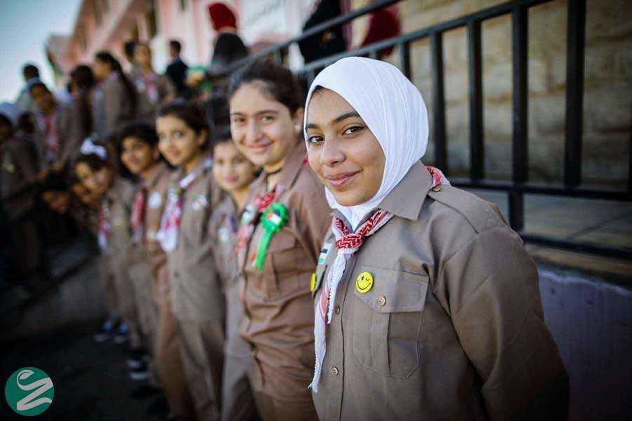 لباس فرم مدرسه دخترانه در لبنان