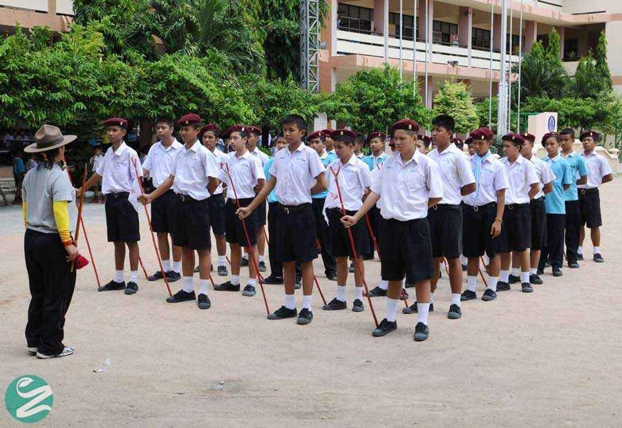 لباس فرم مدرسه در تایلند