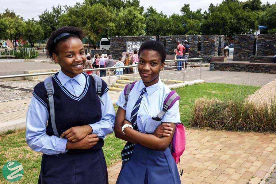 لباس فرم مدارس آفریقای جنوبی