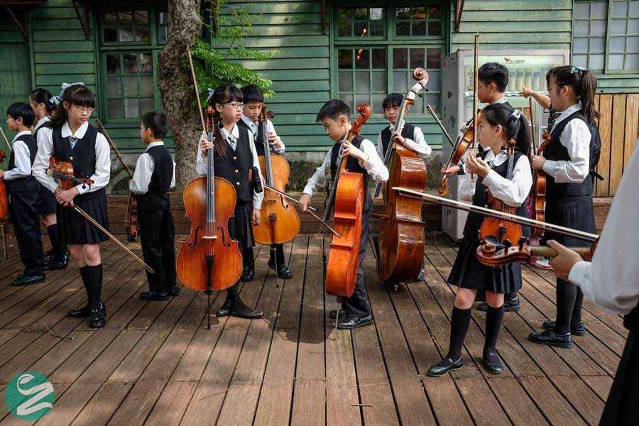 لباس فرم مدرسه در تایوان