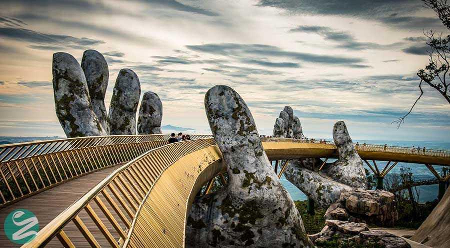 18 عکس از پل طلایی ویتنام، Golden Bridge