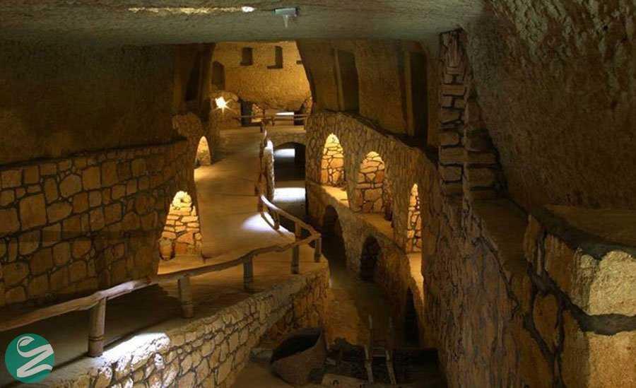 جاهای دیدنی کیش - شهر زیر زمینی کاریز