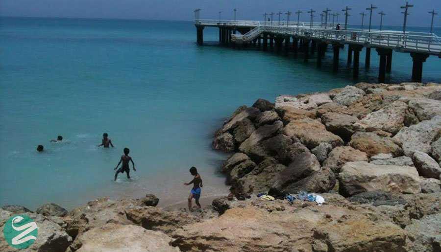 جاهای دیدنی کیش - پارک ساحلی میر مهنا