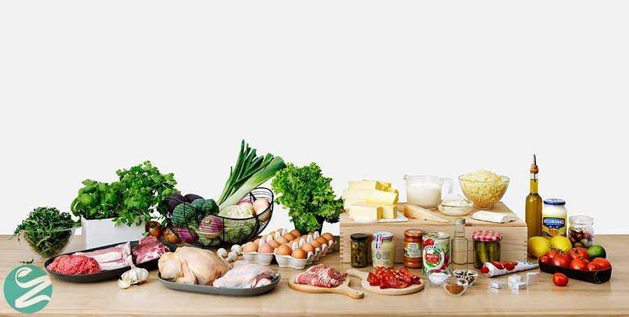 لیست غذاهای کم یا بدون کربوهیدرات