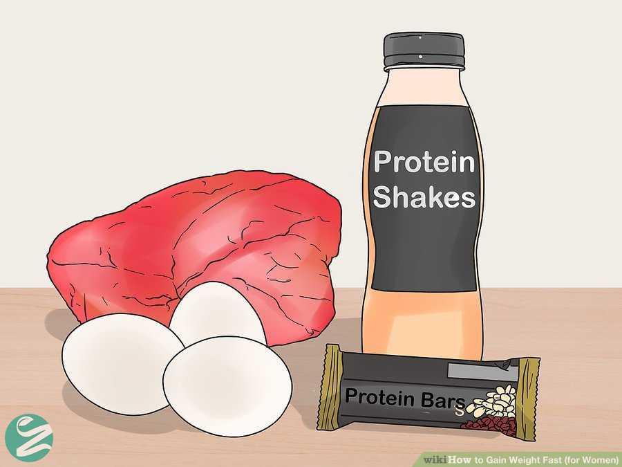 افزایش وزن با مصرف پروتئین