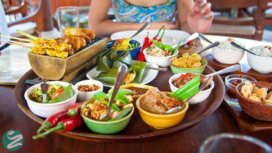 غذاهای بالی، اندونزی