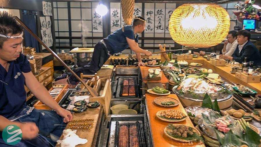 غذاهای توکیو، ژاپن