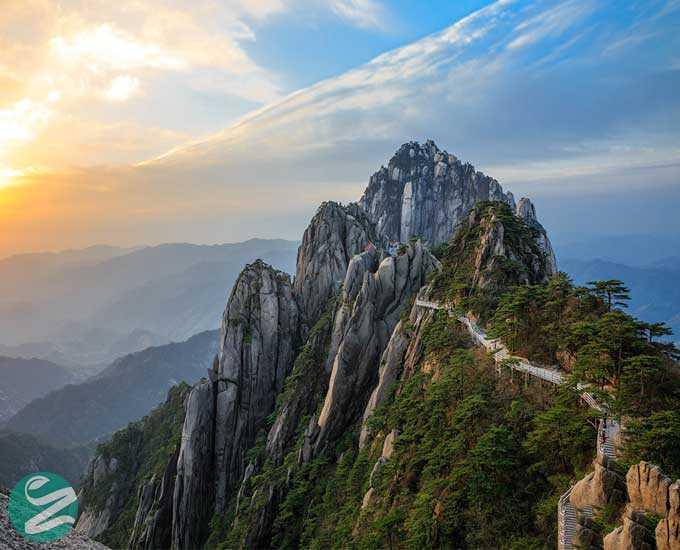 27 عکس هوایی از کوهستان هونگ شان در چین