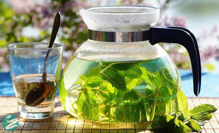 کاهش وزن با چای نعناع