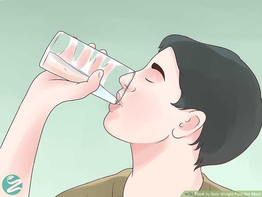 آب خوردن و افزایش وزن