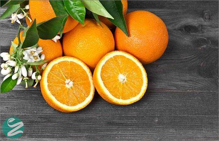 ماسک پرتقال برای روشن شدن پوست