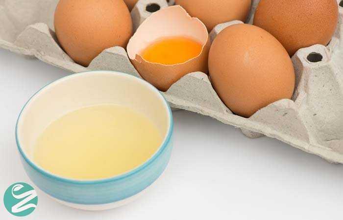 ماسک صورت سفیدهی تخم مرغ و زردچوبه