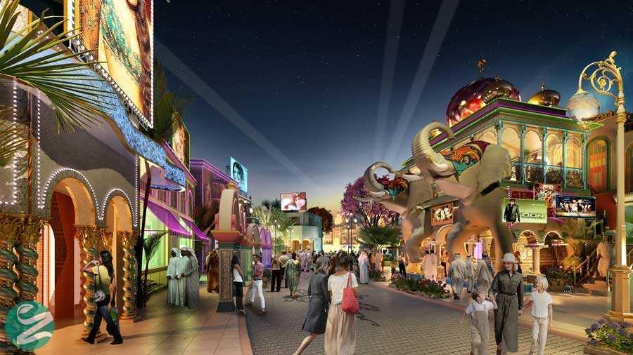پارکها و مکانهای تفریحی دبی، Dubai Parks and Resorts