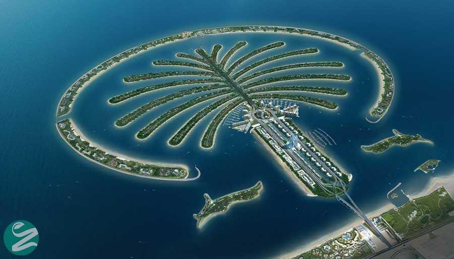 جزایر نخل جُمیره، The Palm Jumeirah