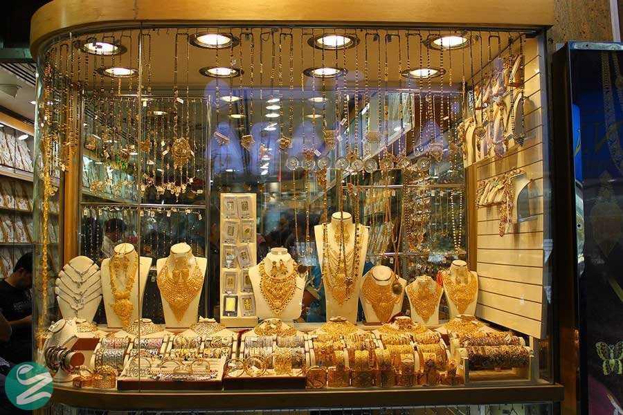 مغازههای عربی طلا یا ادویه، Gold and Spice Souk