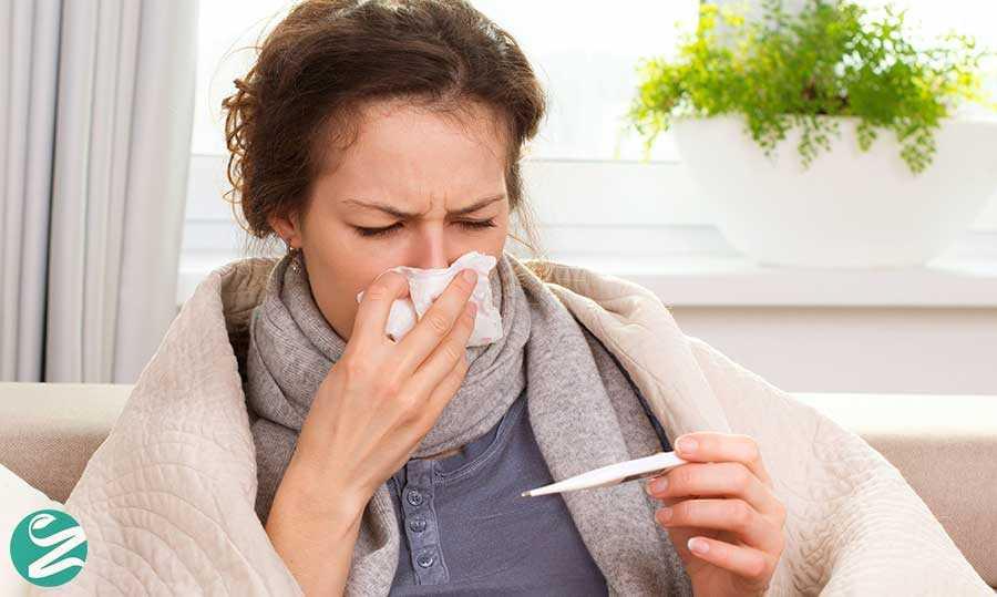 درمان تب و پایین آوردن دمای بدن با 14 روش خانگی