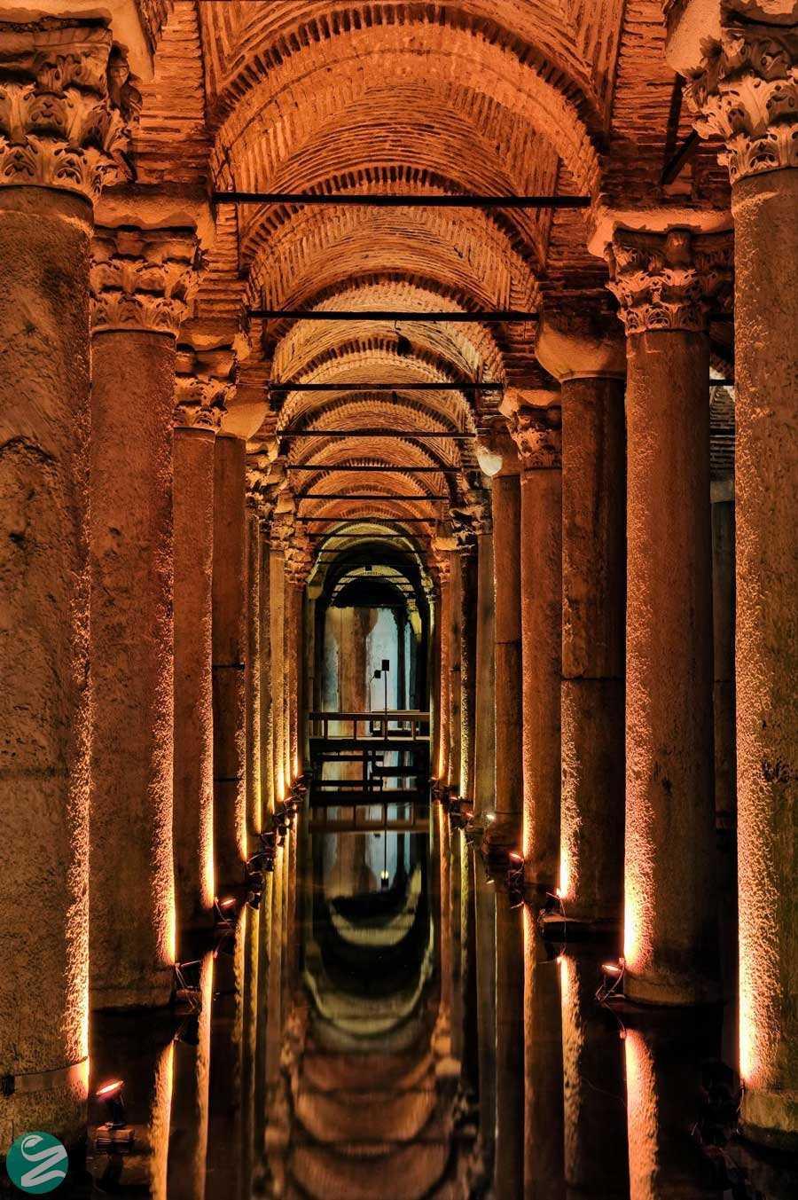 آبانبار Basilica Cistern