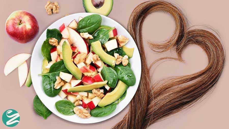 9 غذای عالی برای کمک به رشد موها