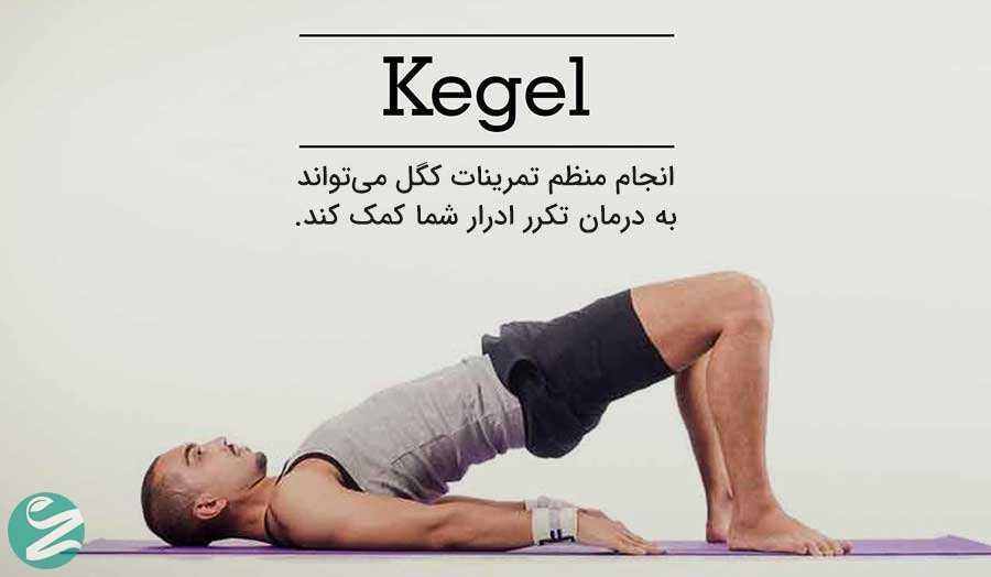 تمرینات کگل (Kegel)