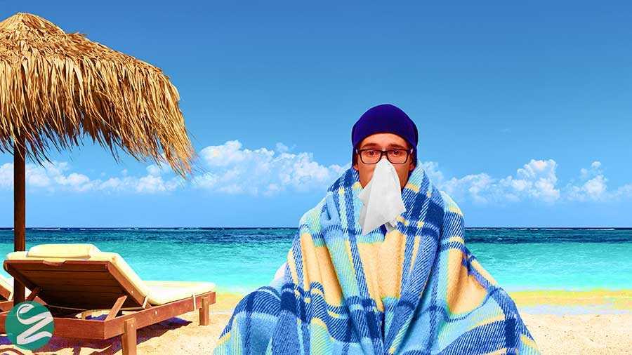 درمان سرماخوردگی تابستان به روش خانگی