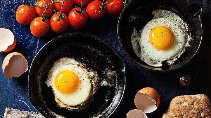 افزایش متابولیسم با تخممرغ