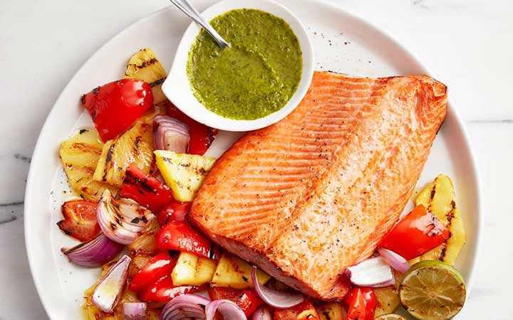 افزایش متابولسیم با ماهی