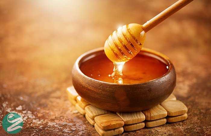 از بین بردن چربی صورت با عسل