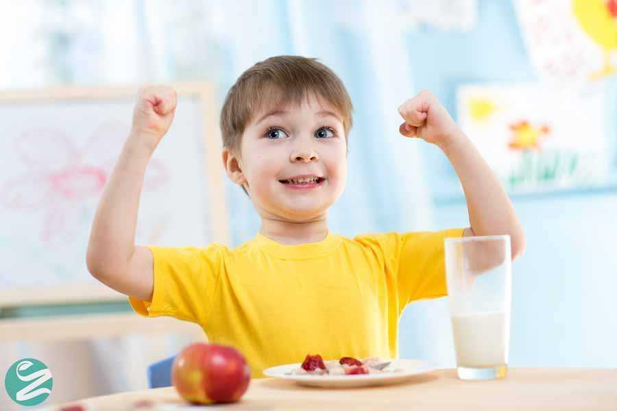 تقویت استخوان بندی کودکان