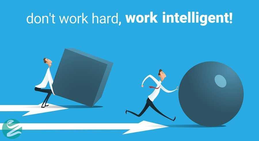 هوشمندانه کار کردن
