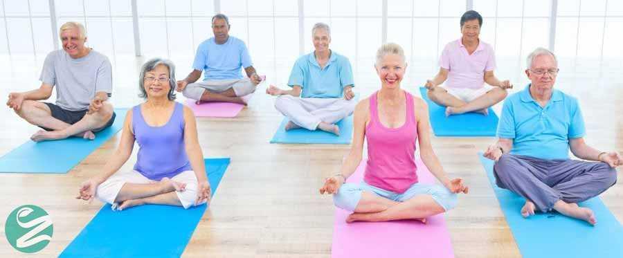 درمان میگرن با یوگا