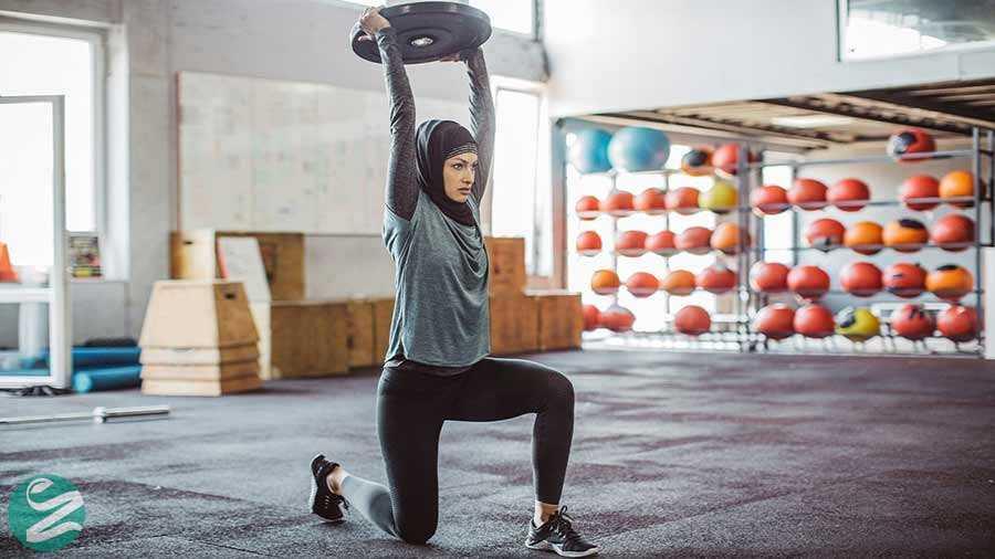 درمان پف چشم با ورزش