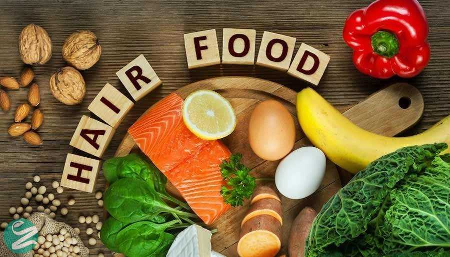 غذاهای مفید برای سلامت مو