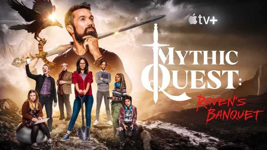 سریال Mythic Quest: Raven's Banquet (تجسس افسانهای: ضیافت کلاغِ سیاه)