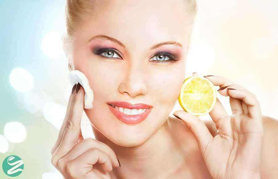روشن کردن موهای صورت با آب لیمو