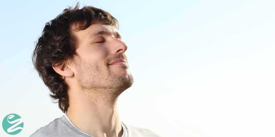 سلامت ریه ها با نفس عمیق کشیدن