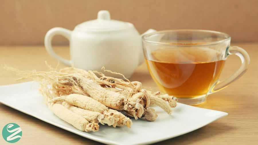 چای جینسنگ