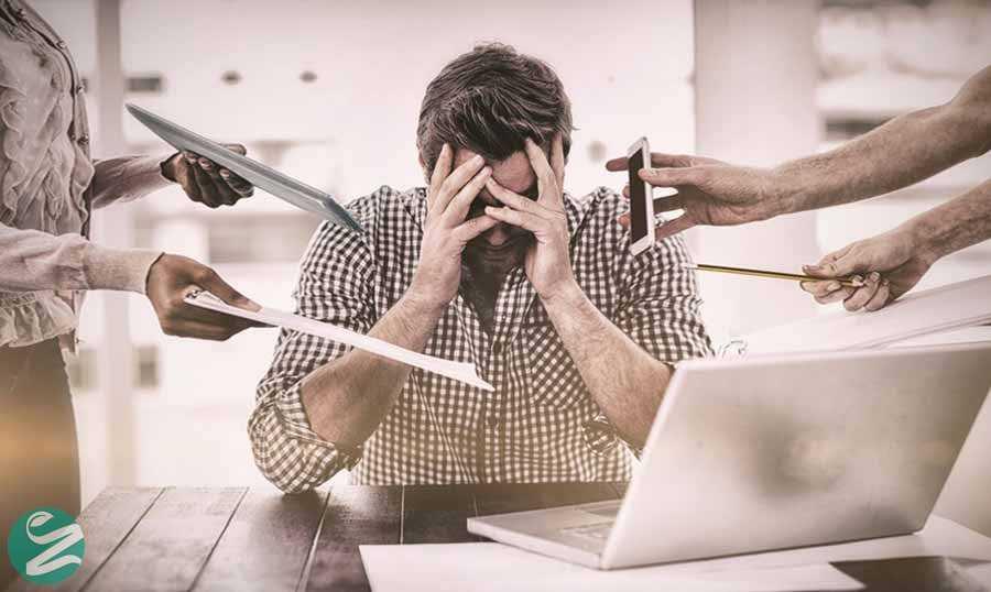 5 روش مقابله با عوامل استرس زا