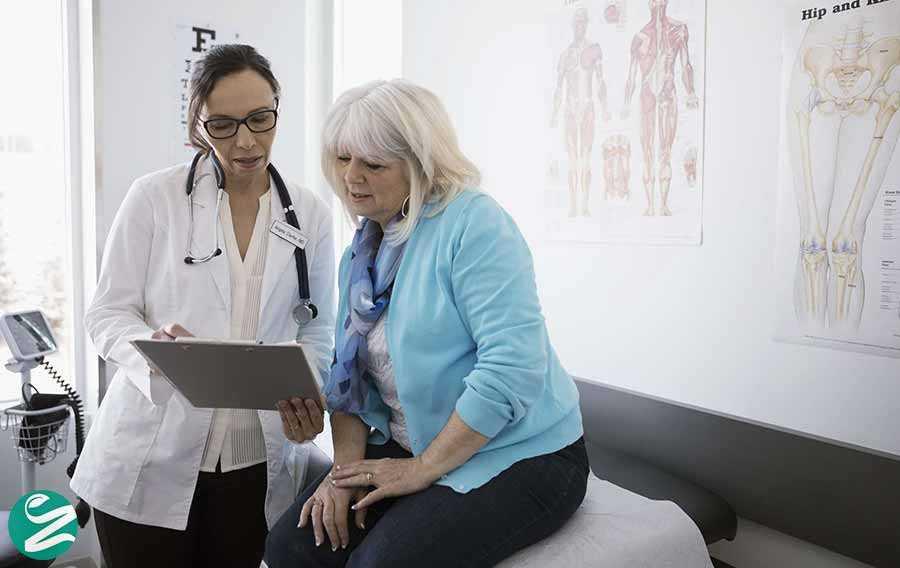 کاهش وزن زنان و ملاقات با پزشک