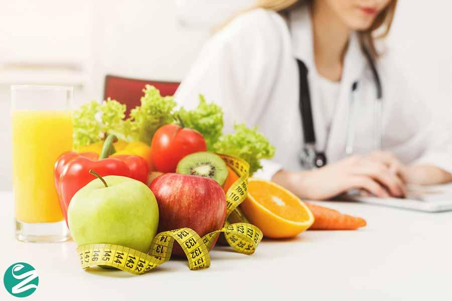 رژیم غذایی برای انسداد مزمن ریه