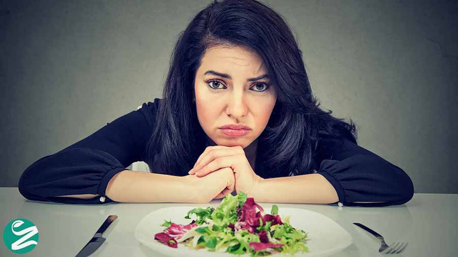 استرس و چاقی علت لاغر نشدن