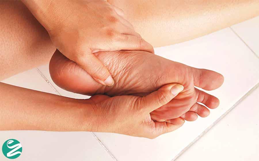کاهش سوزش پاها