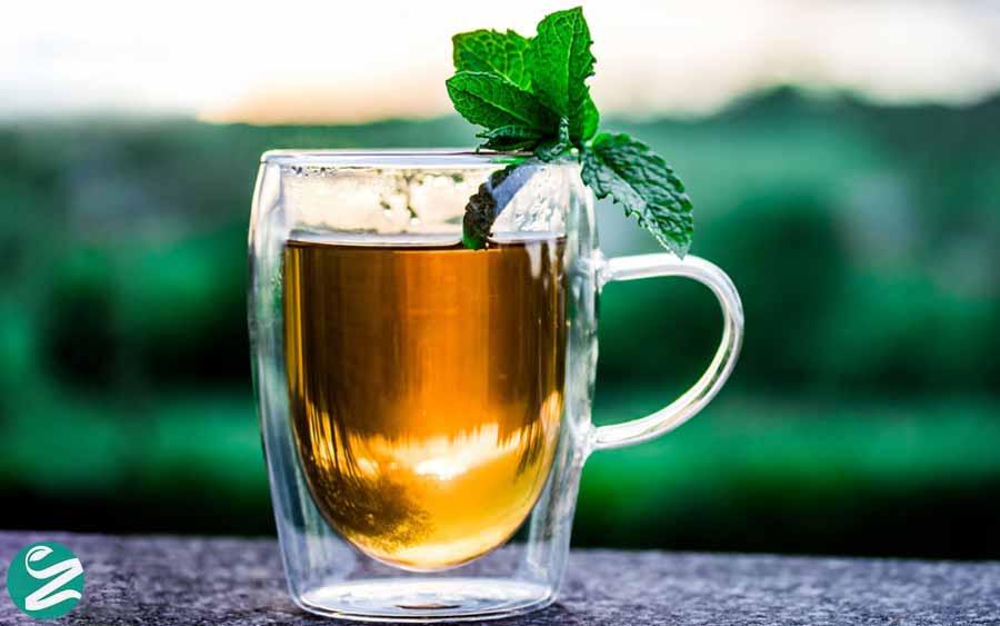چای یا دمنوش نعناع