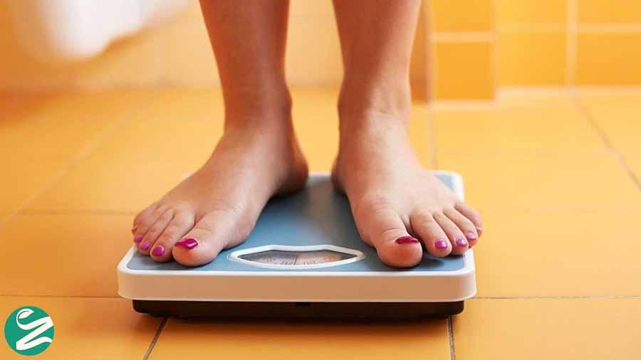 لاغر شدن صورت با کاهش وزن