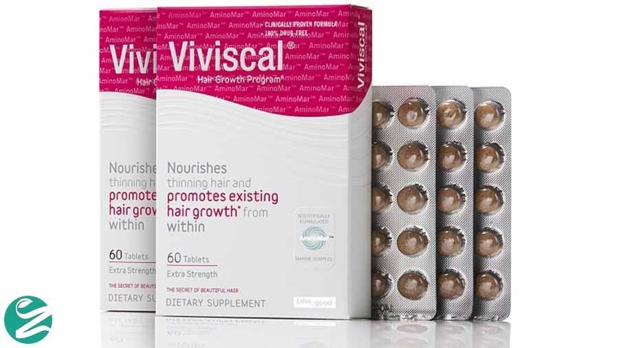تقویت موها با قرص Viviscal