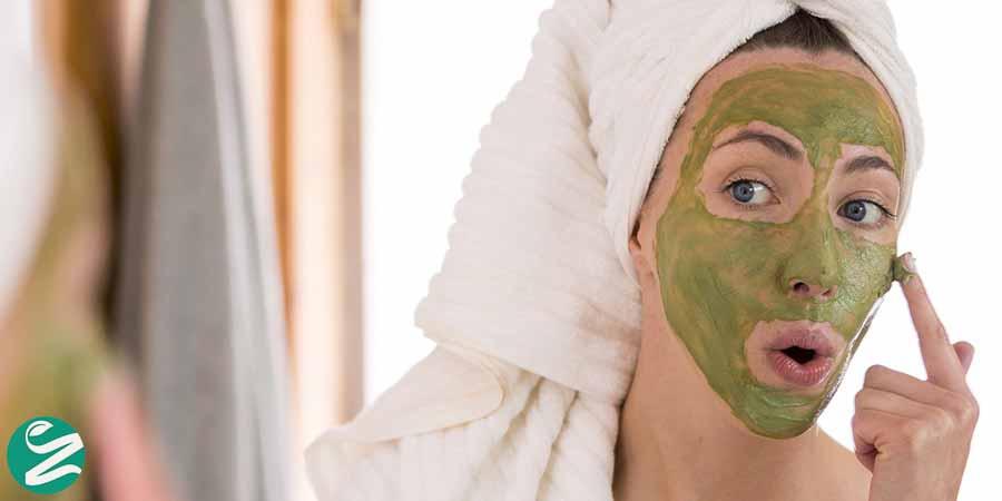 ماسک صورت پاک کننده
