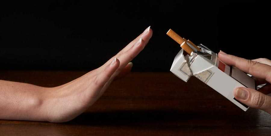 از سیگار کشیدن خودداری کنید