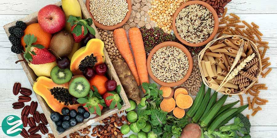 غذاهای پر فیبر و خروج از کتوژنیک