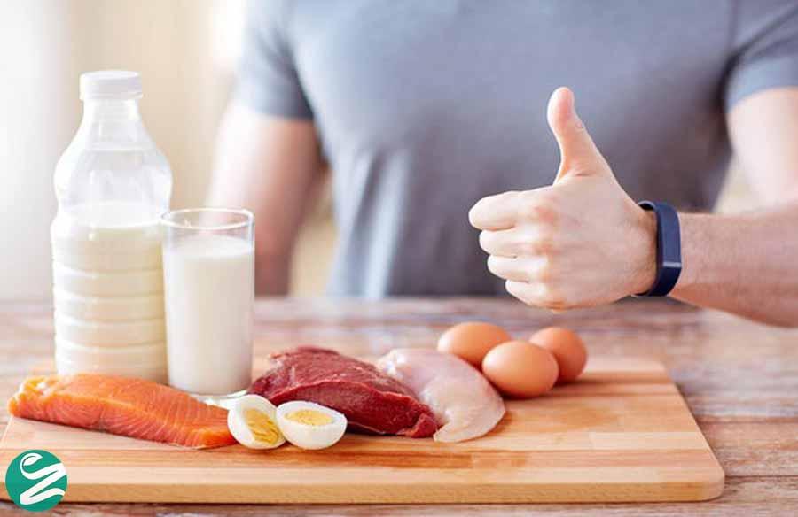 میزان مصرف مناسب پروتئین